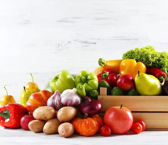 fruits and nutritional foods - for food intolerance tests