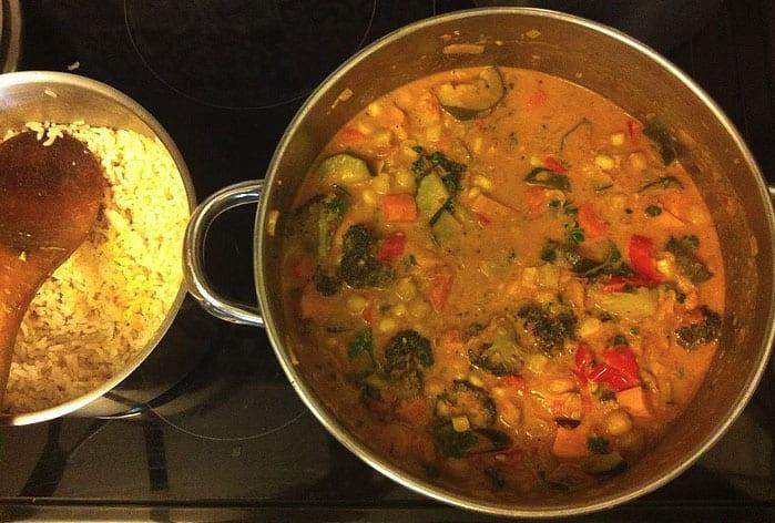 Vegetarian Vegan Curry Recipe | Easy Vegetable-Packed Meal